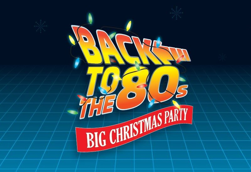 Back To The 80s Big Christmas Party
