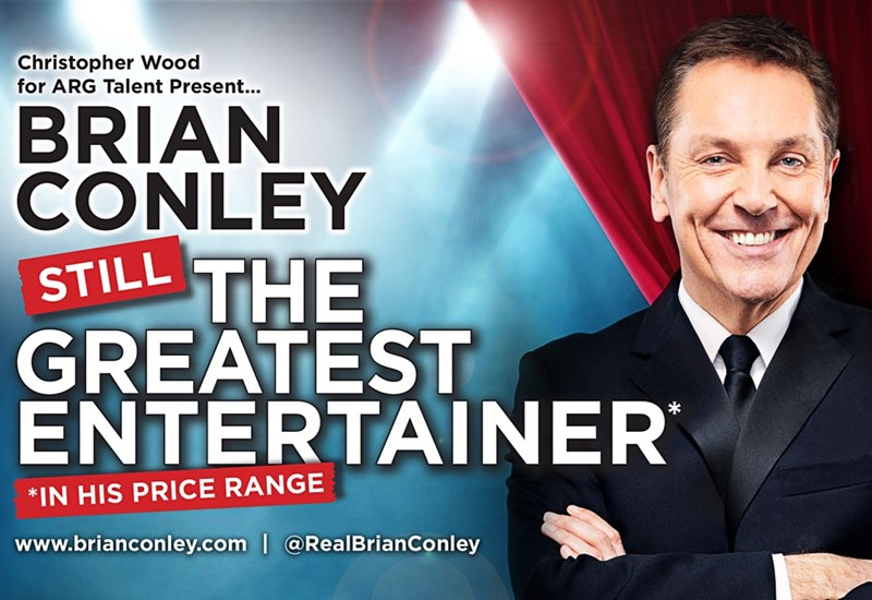 Brian Conley 2018: Still the Greatest Entertainer - In His Price Range