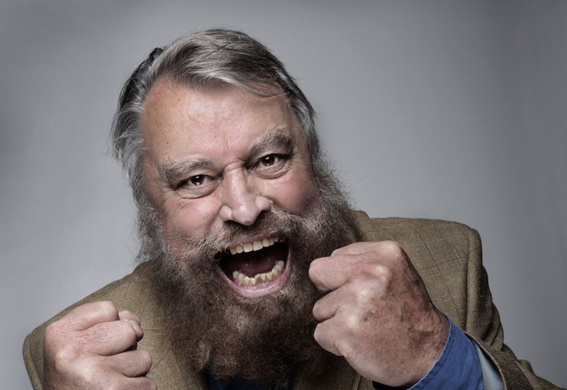 Gordon's Alive! It's Brian Blessed!