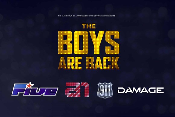The Boys are Back: 5ive / A1 / 911 / Damage