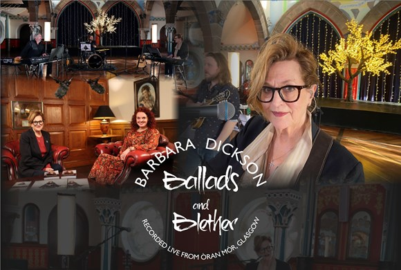 Online Event: Ballads & Blether with Barbara Dickson